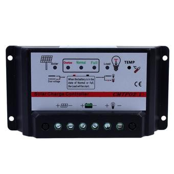 30A 12V/24V Auto Switch Mppt Solar Panel Battery Regulator Charge Controller(Black) - Intl