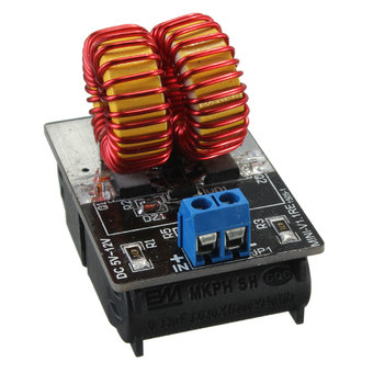 2pcs 5v ~ 12v Miniature ZVS Induction Heating Power Supply Module + Heater Coil New