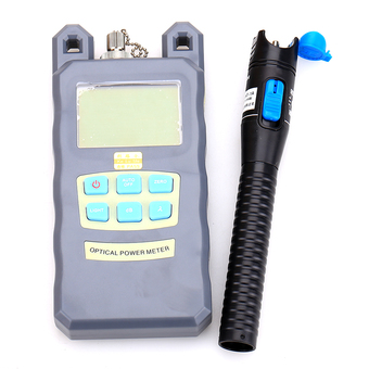 Fiber Tool Small Bag with Optical Power Fiber Meter and 1mW 3-5KM Plastic Visual Fault Locator with 2.5mm Universal Connector Fiber Optic Cable Tester Checker Test Tool for CATV Telecommunications - Intl ร้านค้าดี ราคาถูกสุด - RanCaDee.com