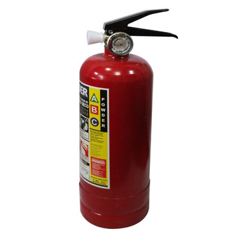 iBettalet ถังดับเพลิง 2 Lbs Dry Chemical Fire Extinguisher (Red)