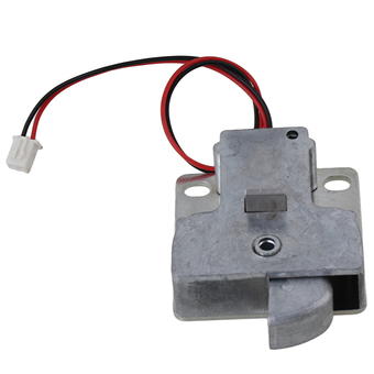12V Cabinet Door Electric Lock Assembly Solenoid (Silver)