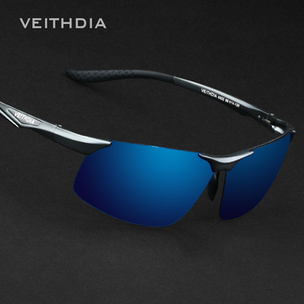 VEITHDIA Aluminum Magnesium Polarized Sunglasses Men Sports Sun glasses Night Driving Mirror Male Eyewear Accessories Goggle Oculos 6502