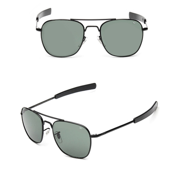 3 Pcs Sunglasses Men Square Sun Glasses Grey Color Brand Design - Intl