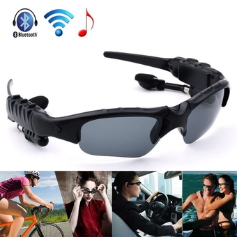 Wireless Bluetooth Sunglasses Headset Headphones For iPhone/ Samsung/ HTC/ Nokia