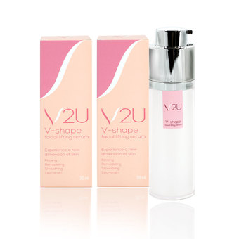 Sudtana V2U V-Shape Facial Lifting Serum 2 ขวด 30ml.
