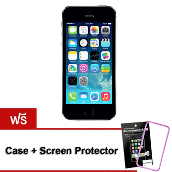 Apple iPhone5S 16 GB (Black) Free Case+ScreenProtector