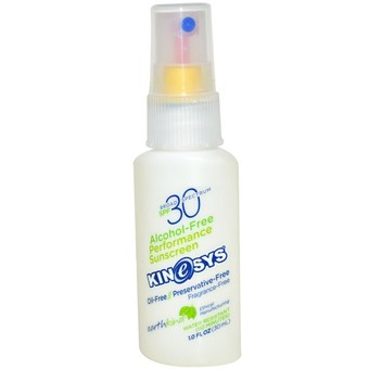 KineSys Inc Alcohol-Free Performance Sunscreen, SPF 30, Fragrance-Free, 1 fl oz