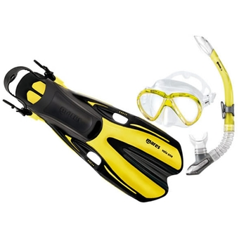 Mares Volo One Ultra Light Snorkelling - Set Yellow