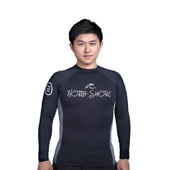 North Shore Rash Guard Men (Black)
