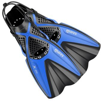 NEW 2016 Mares X-One Snorkelling Fins Blue