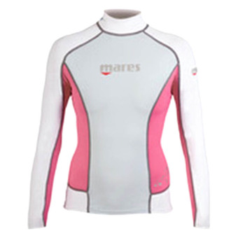 Mares Rash Guard Long Sleeve Woman - Pink