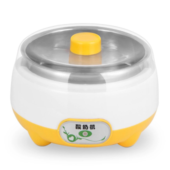 BEST HS Yogurt machine เครื่องทำโยเกิร์ต Portable Automatic Fruit Yogurt Maker Plastic liner HS-002 Orange
