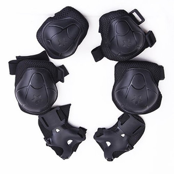6Pcs Set Sports Extreme Sports Protective Gear kid children's Wrist Elbow Knee Protector
