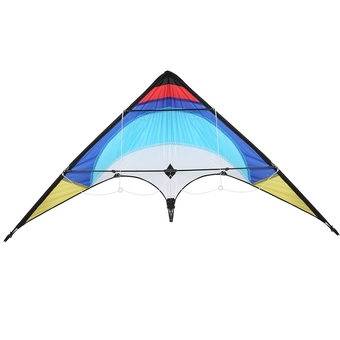 Professional Sporty Stunt Kite Dual Line Control Windy Outdoor Leisure Activity