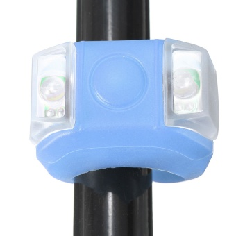 Cycling Bike Bicycle Light Flash Lamp LED Front Rear Lights Warn Safe 3 Modes