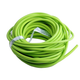 Tube 5mm Replacement Band For Life-saving Sling Shot Slings Rubber Green