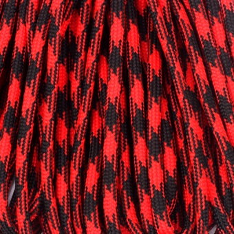 OH Paracord Parachute Cord Lanyard Mil Spec Type III 7 Strand Core 50 100 Feet red camouflage