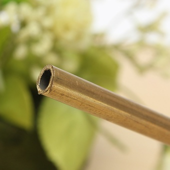 Brass Tube Pipe Tubing Round Inner 6mm Long 300mm Wall 0.45mm