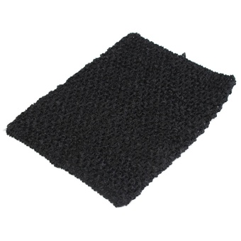 Crochet Tube Top elastic Waistband Black