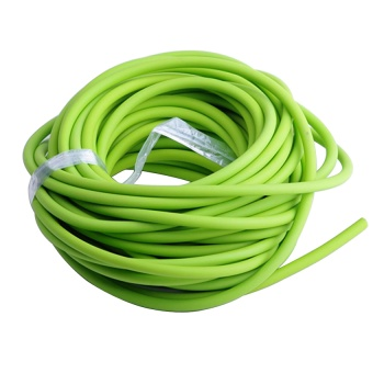 Outdoor Tube 5mm 2.5m Replacement for Sling Shot Slings Rubber green