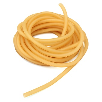 Natural Latex Rubber Band Tube Slingshot Catapult Elastic Parts 10M