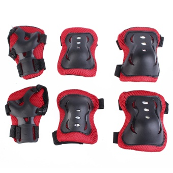 Knee Pads Sport Kinesiology Tape For Children Summer Style Knee Support Top Sale Kids Skating Protective Gear ᆪᄄRedᆪᄅ