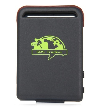 TK102B Car Vehicle GPS GSM GPRS Tracker with SOS Over-speed Alarm (Black)