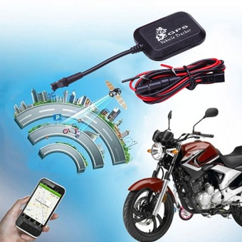 Vehicle Car Motorcycle GPRS GSM GPS Tracker Locator 4 Bands Real Time Tracking