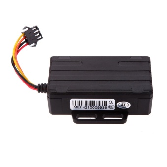 Waterproof Real Time GPS GSM Car Vehicle Tracker Phone SMS Global Locator Anti-Theft Car Tracking Alarm - Intl