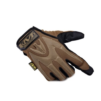 Mechanix Racing Tactical Gloves Motorcycle Paintball Sport Army Shooting Military Glove Brown - Intl