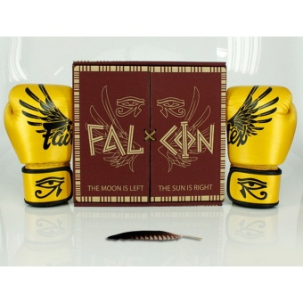 Fairtex Falcon Limited Edition Boxing Gloves - Gold(8oz)