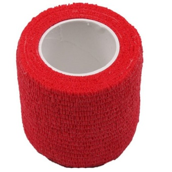 HengSong Sport Non-woven Fabric Itself Stick Elastic Bandage (Red)