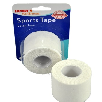 One Roll 3.8cmX7.3m Kinesiology Sports Tape Trainers Strapping Joints Support White