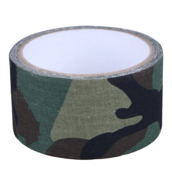 5CMx5M Camo Wrap Outdoor Hunting Bionic Tape Waterproof Forest Camouflage