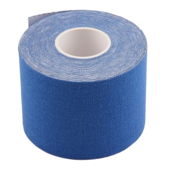 OH 1 Roll 5cm x 5m Kinesiology Sports Elastic Tape Muscle Pain Care Therapeutic Dark Blue