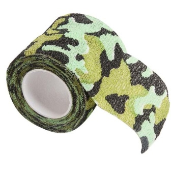 Fang Fang Wrap Rifle Shooting Hunting Camouflage Sport Tapes (Camouflage)- Intl