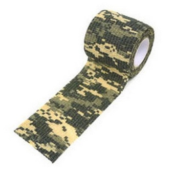 New 5CM x 4.5M Kombat Army Camo Wrap Rifle Outdoor Camouflage Stealth Tape ( ACU Digital )