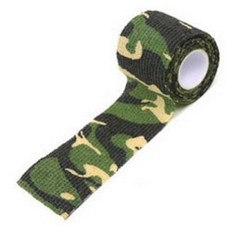 Fancytoy New 5CM x 4.5M Kombat Army Camo Wrap Rifle Outdoor Camouflage Stealth Tape (Jungle)
