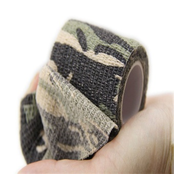 5cmx4.5m Army Camo Hunting Camping Camouflage Stealth Tape Wrap Durable