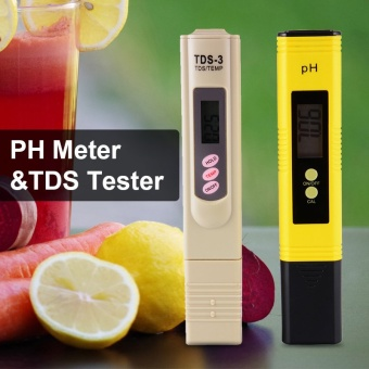 XCSOURCE Digital pH Meter + TDS Tester Aquarium Pool Hydroponic Water Purity Pen BI576 - intl