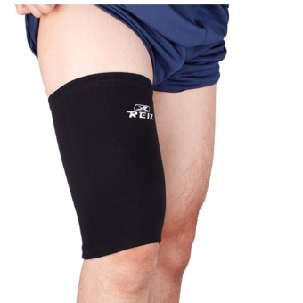 Elastic Sports Leg Support Brace Wrap Protector Thigh Pad Guard Fitness