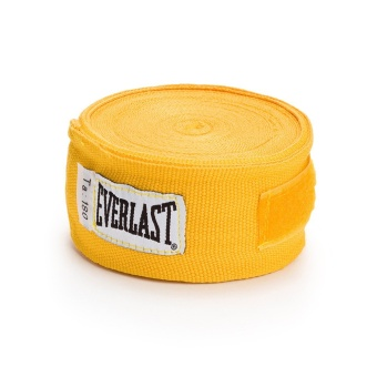 "EVERLAST 180"" HAND WRAPS (YELLOW)"""