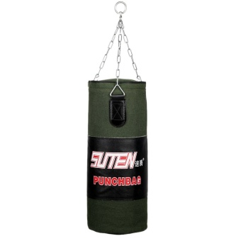 Outdoorfree 80cm Boxing Free Combat Training Sandbag Hanging Empty Kick Punch Bag with Chain - Intl