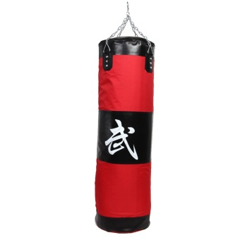 100cm Training MMA Boxing Hook Kick Sandbag Fight Sand Punch Punching Bag