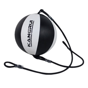PU Contractubex Faux Boxing Speed Ball (Black/White)