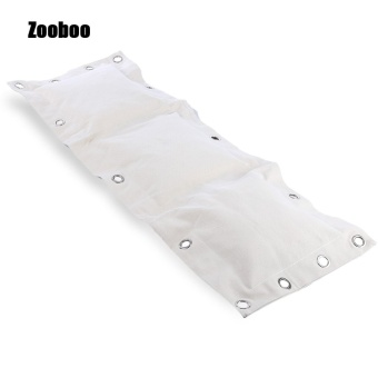 Zooboo Kick Wall Punching Pad Boxing Striking Canvas Bag (120 X 40CM) (White)