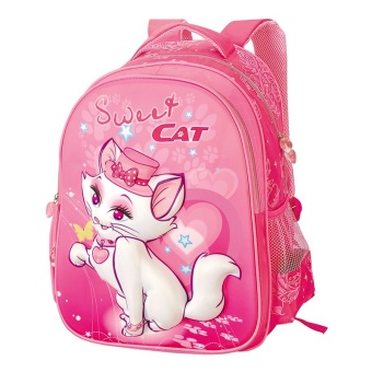 Sami Child Cartoon Cute Cat Kids School Backpacks for Girls - Intl
