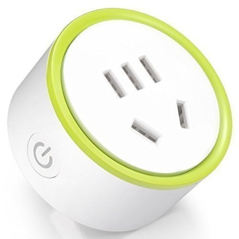 Konke Mini K Smart Plug / Outlet / Switch / Socket, Wifi Remote Control, Timed Delay, Charging Protection, 220V Available Homekit Compatible with iPhone, Android Smartphone (Mini K) - Intl