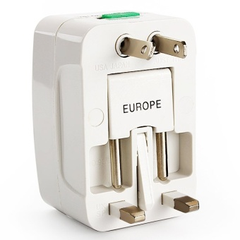 All in One Universal International Plug Adapter Three - hole Socket World Travel Charger Adaptor