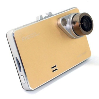 2.7 1080P HD Car DVR Wide Angle Lens Car Camera Recorder (Golden)""